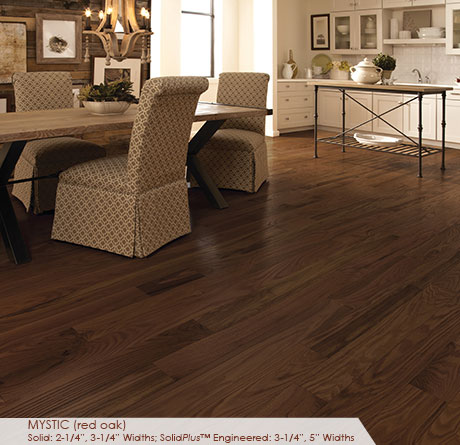 "Somerset Classic Collection Solid Red Oak Mystic 3 1/4""-0"