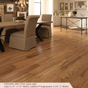 "Somerset Classic Collection Solid Red Oak Natural 3 1/4""-0"