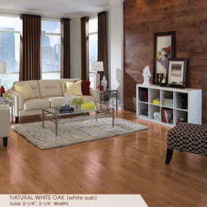 "Somerset Color Collection Engineered white Oak Natural 5""-0"