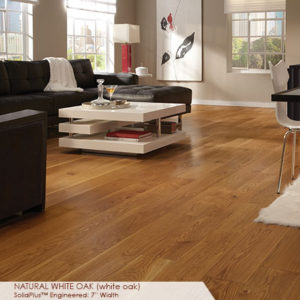"Somerset Wide Plank Collection Engineered White Oak Natural 7""-0"