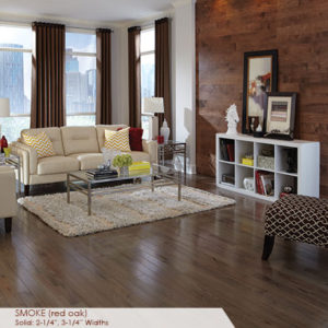 "Somerset Color Collection Engineered Red Oak Smoke 3 1/4""-0"