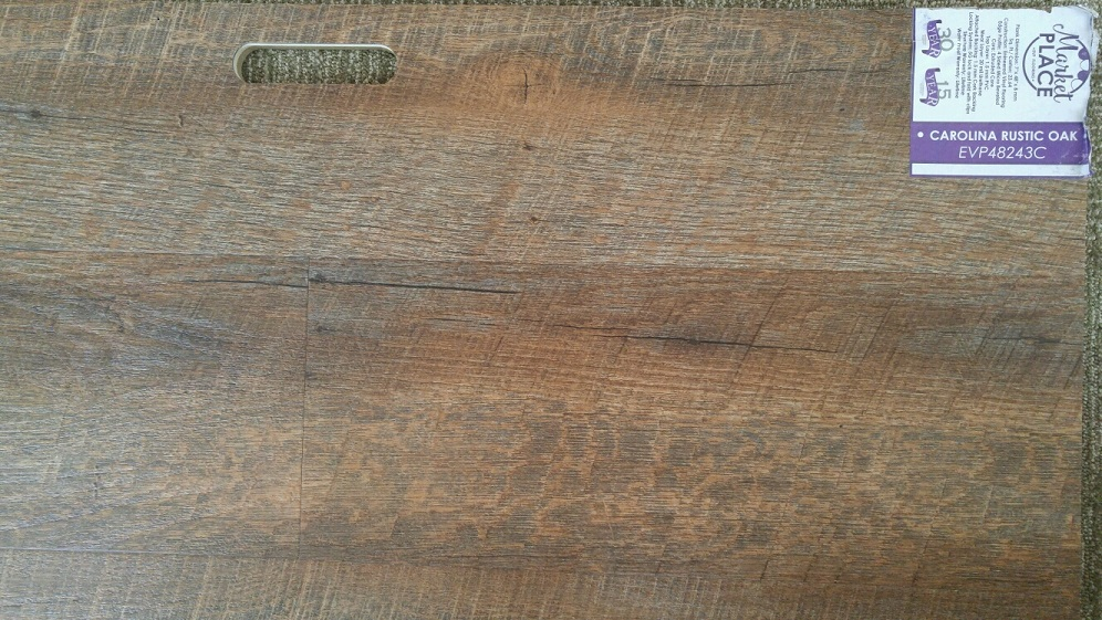 Market place evp signature collection carolina rustic 7 for Evp flooring