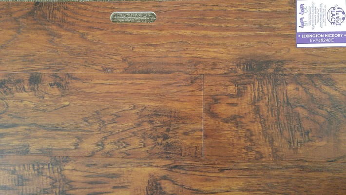 "Market Place LVT Signature Collection Lexington Hickory 7""-0"