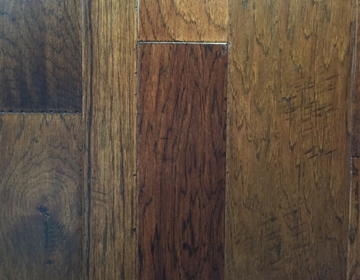 """Artisan Mills Valencia Collection Gulf Breeze Hand Scraped Hickory 3"""", 5"""", 7""""-0"""