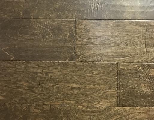 "Collection Birch - Carrara Loft Flooring Mills Scraped FMH Hand 6.5"" Artisan"