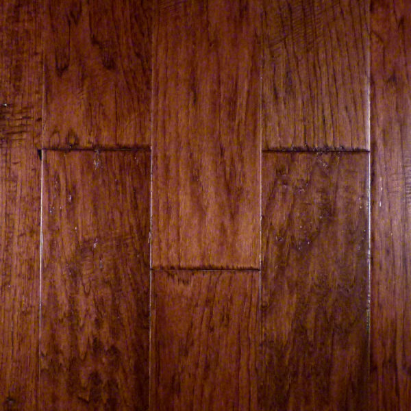 "x - Hickory 3/8"" FMH Burnt 5"" Jackson Plank Flooring CFS"
