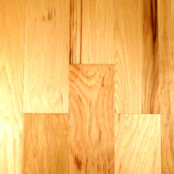"Natural 5"" Scraped Hickory FMH Flooring - 3/8"" x Jackson Plank CFS Hand"
