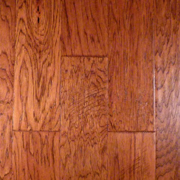 "Jackson Hickory FMH Plank x - 5"" Flooring Shiloh 3/8"" CFS"