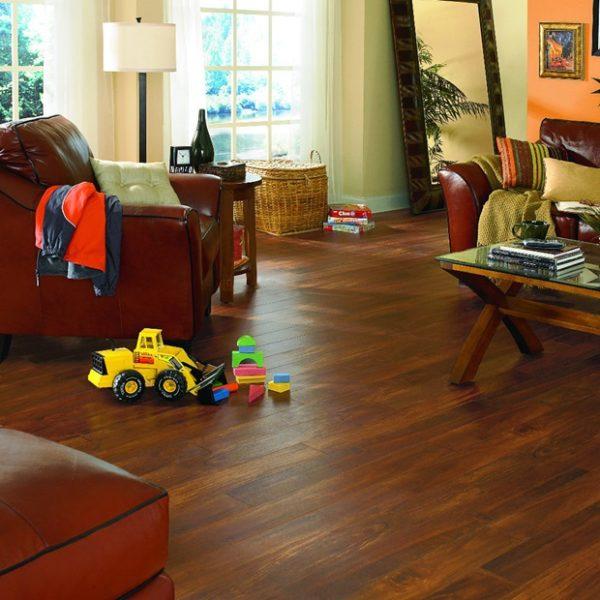 "Adura FMH Acacia Plank 6"" Flooring Mannington Tigers Eye Max -"