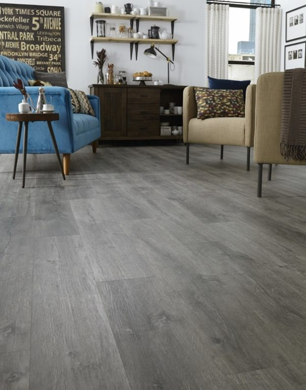 "Mannington Flooring Plank Max - Aspen Adura 7"" FMH Drift"