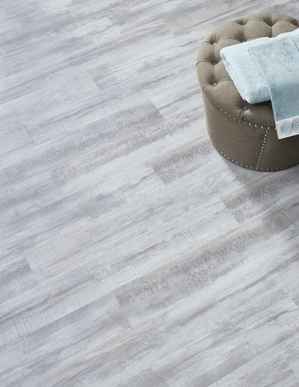 "Cap FMH Plank Flooring May Mannington Max 6"" - Adura Cape White"