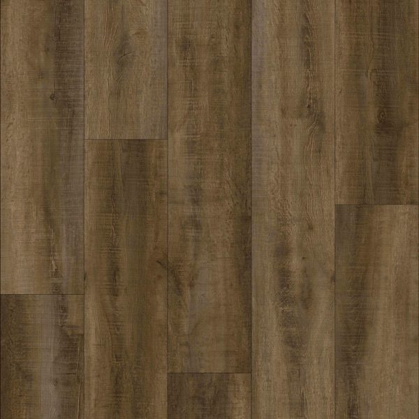 "Floors Barrel Values Life FMH - For Core 7"" Rigid Flooring Whiskey"