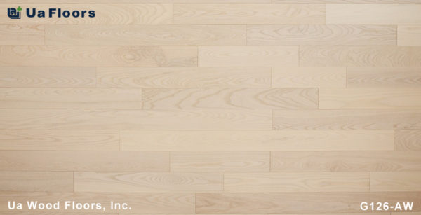 "- 4-3/4"" Collection Flooring Floors Alpine UA Ash FMH Grecian White"