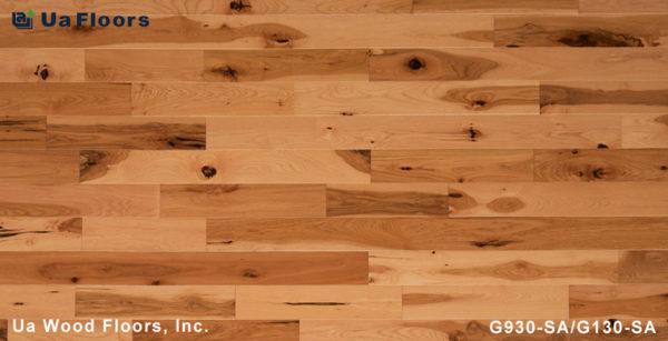"FMH - 3-9/16"" Sand UA Hickory Grecian Series Flooring Floors"