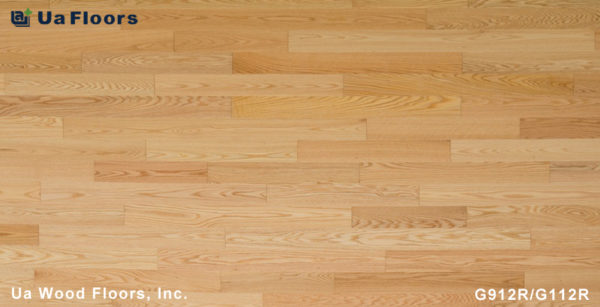 "- Series UA FMH Red Natural Oak 3-9/16"" Grecian Engineered Floors Flooring"