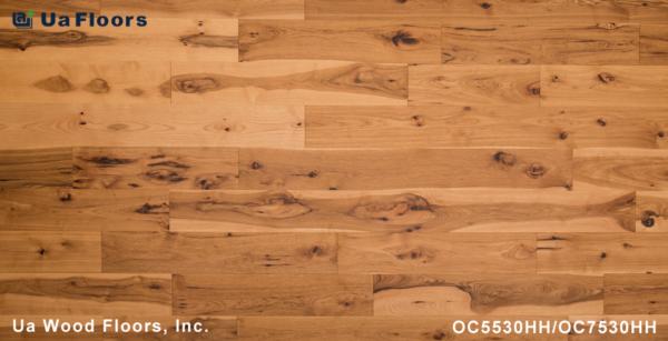 """Charleston UA Hickory Engineered - 1/2"""" FMH Flooring Olde Floors Hazelnut 7"""
