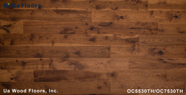 "Floors Hickory UA 7 Tobacco Engineered Olde FMH - 1/2"" Flooring Charleston"