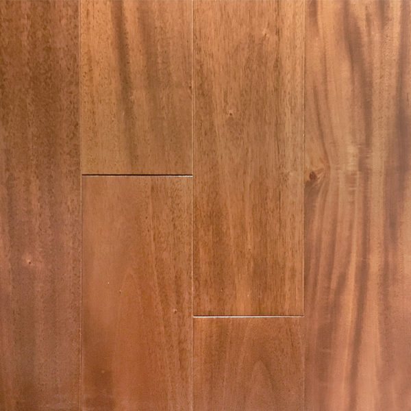 "Ark Flooring FMH 4-3/4"" Elegant Exotic Flooring Natural Mahogany Genuine - Collection"