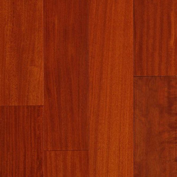 "Santos Flooring Collection 4-3/4"" Elegant - Flooring Exotic Mahogany Natural FMH Ark"
